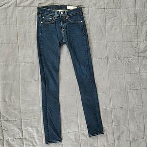 Rag & Bone skinny jeans, size 25
